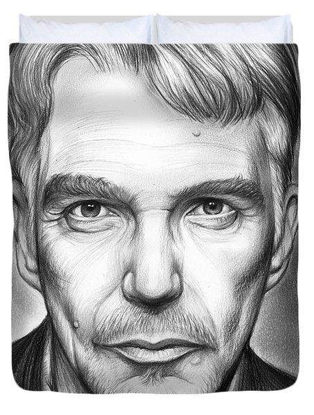 Billy Bob Thornton Duvet Cover