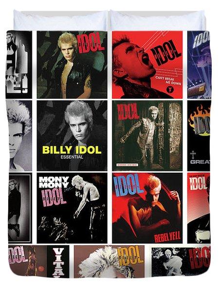 Billy Idol Duvet Cover