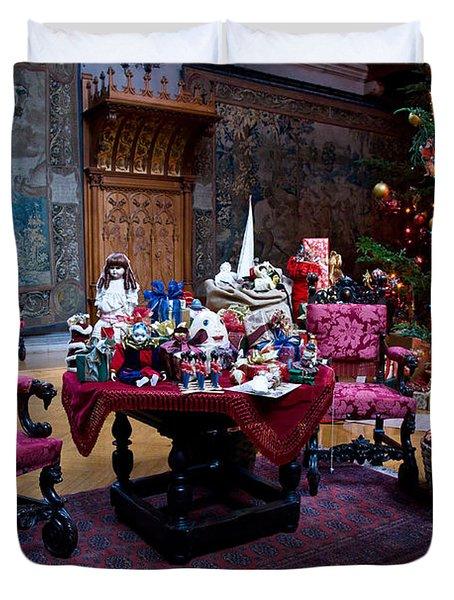 Biltmore Christmas   Duvet Cover