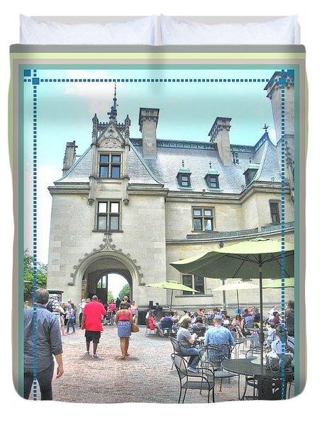 Biltmore Courtyard Duvet Cover