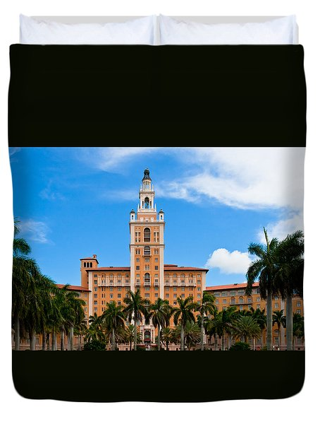 Biltmore Hotel Duvet Cover by Ed Gleichman