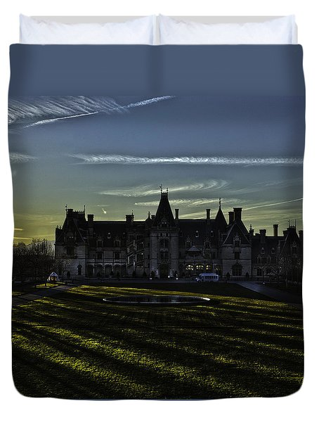 Biltmore Mansion Asheville North Carolina Duvet Cover