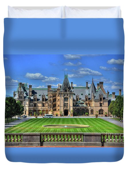 Biltmore Mansion Estate Asheville North Carolina  Duvet Cover