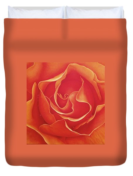 Biltmore Rose Duvet Cover by Dee Dee  Whittle