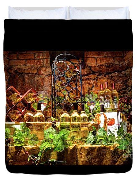 Biltmore Wine Duvet Cover by Savannah Gibbs