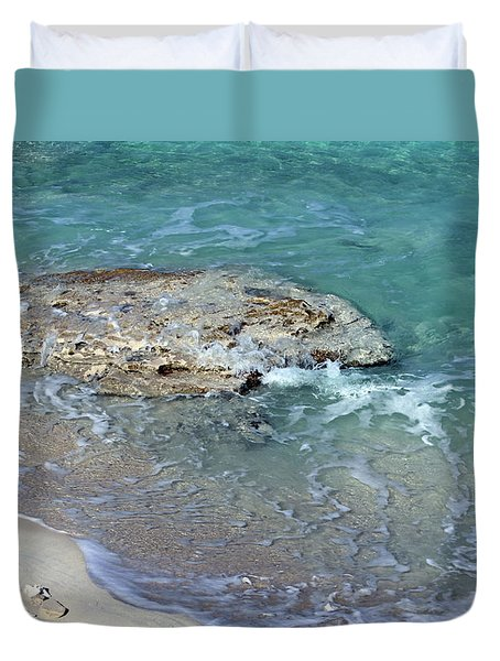 Bimini After Wave Duvet Cover