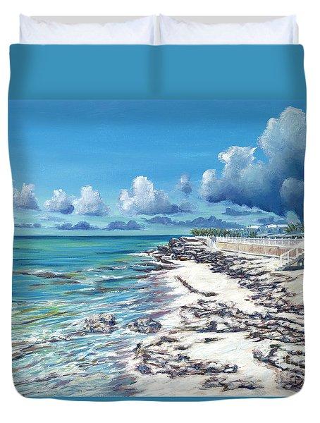 Bimini Breeze Duvet Cover by Danielle  Perry