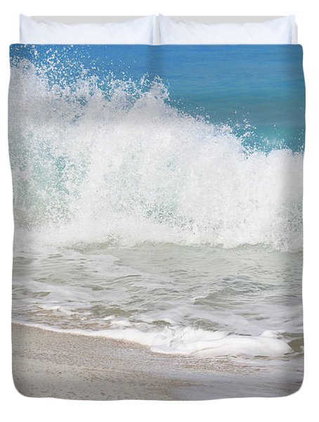Bimini Wave Sequence 1 Duvet Cover