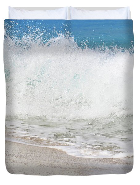 Bimini Wave Sequence 2 Duvet Cover