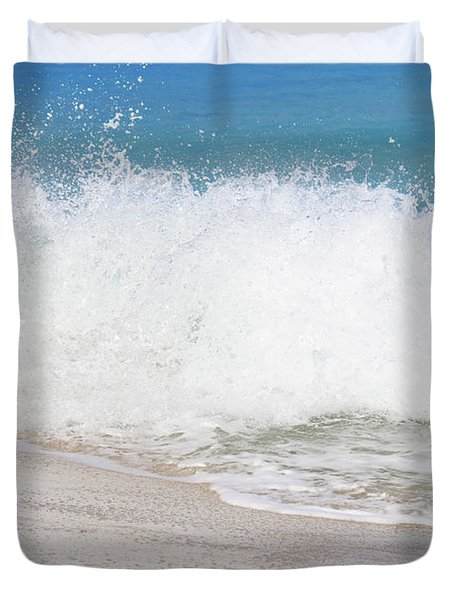 Bimini Wave Sequence 3 Duvet Cover