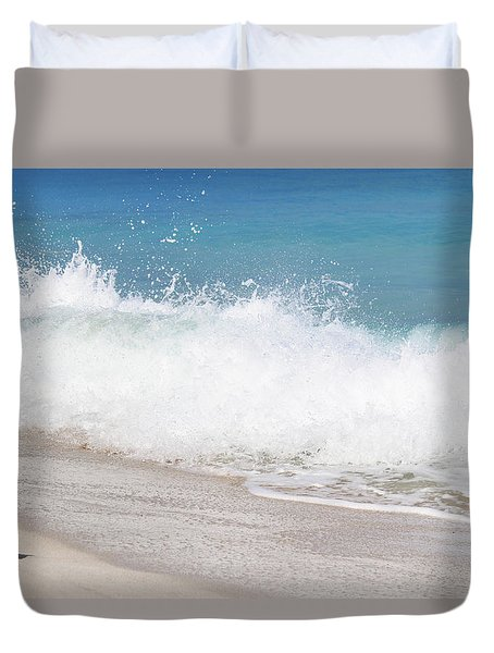 Bimini Wave Sequence 4 Duvet Cover