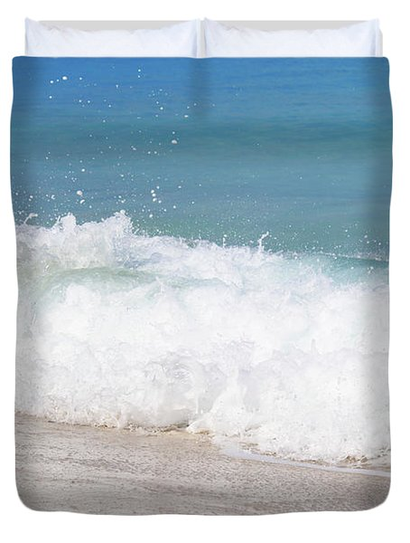 Bimini Wave Sequence 5 Duvet Cover
