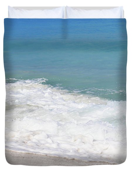 Bimini Wave Sequence 6 Duvet Cover