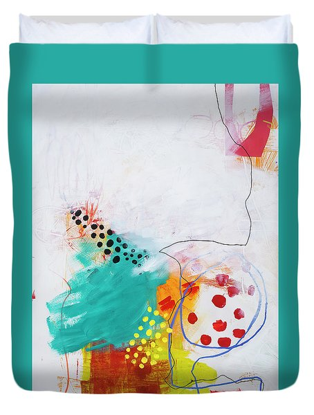 Bio Diverse City#2 Duvet Cover by Jane Davies