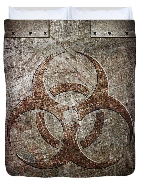 Bio Hazard Duvet Cover