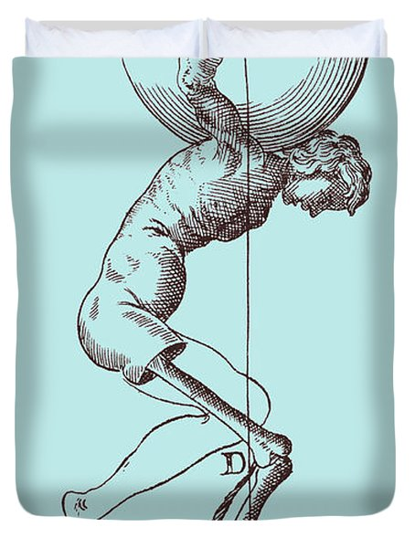 Biomechanics Duvet Cover by Science Source