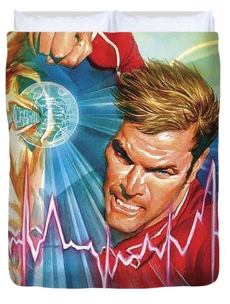 Bionic Man Duvet Cover