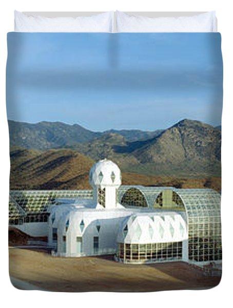 Biosphere 2, Arizona Duvet Cover