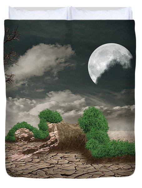 Biotic Decomposition Duvet Cover