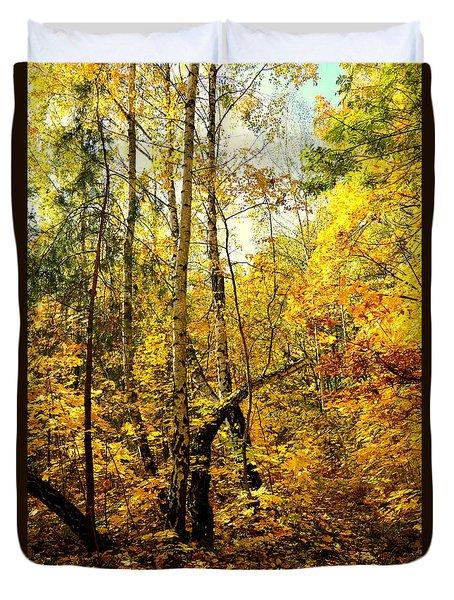 Birch Autumn Duvet Cover