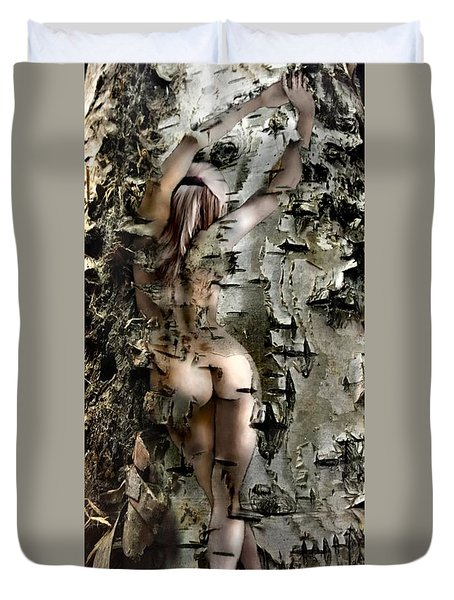 Birch Beauty Duvet Cover by Tlynn Brentnall