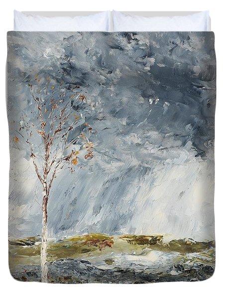 Birch I Duvet Cover