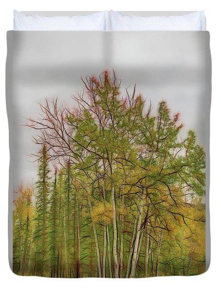 Birch Tree #1 Duvet Cover