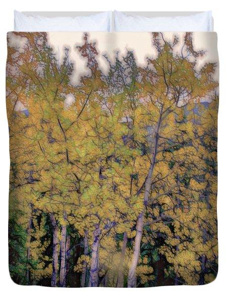 Birch Trees #2 Duvet Cover