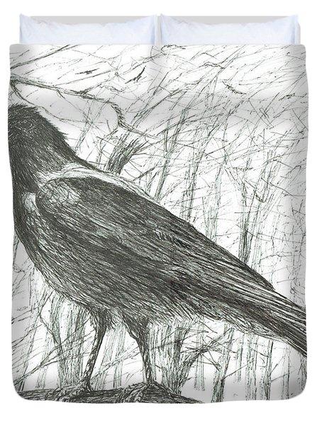 Bird, 2011 Duvet Cover