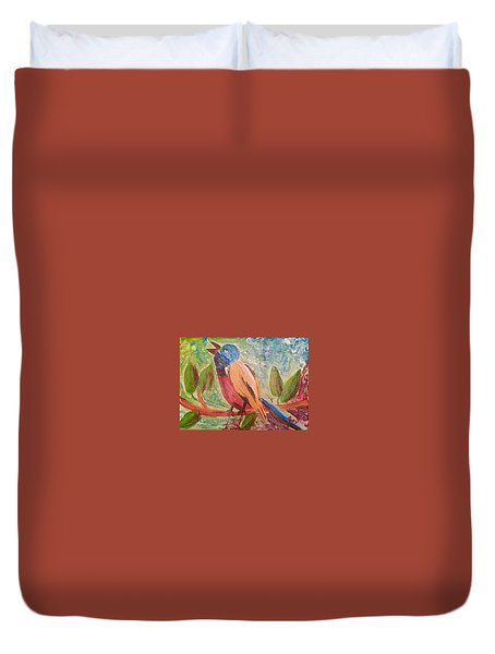 Bird At Rest Duvet Cover