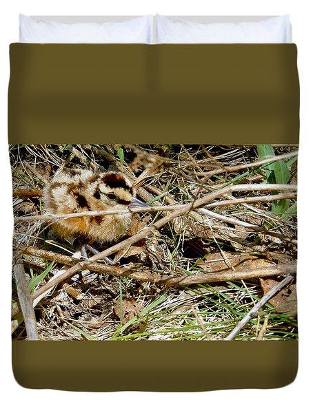 Bird Banding - Woodcock Duvet Cover
