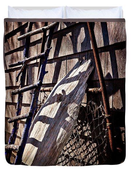 Bird Barn Details Duvet Cover