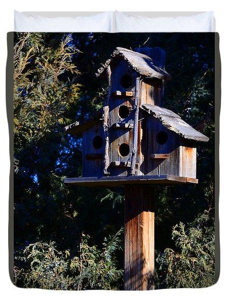 Bird Condos Duvet Cover