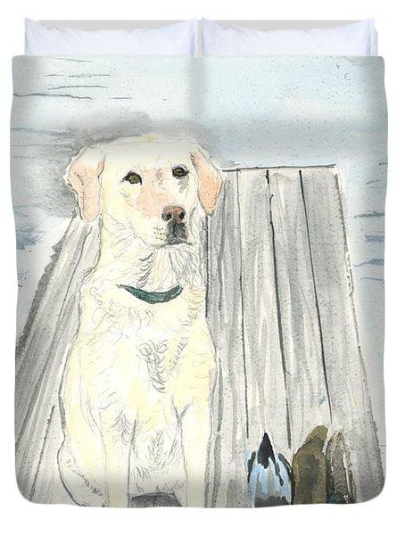 Bird Dog Duvet Cover