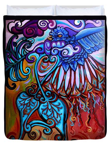 Bird Heart II Duvet Cover