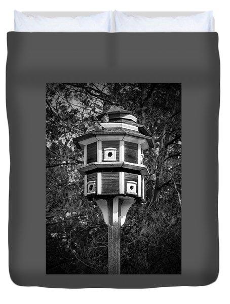 Bird House Duvet Cover