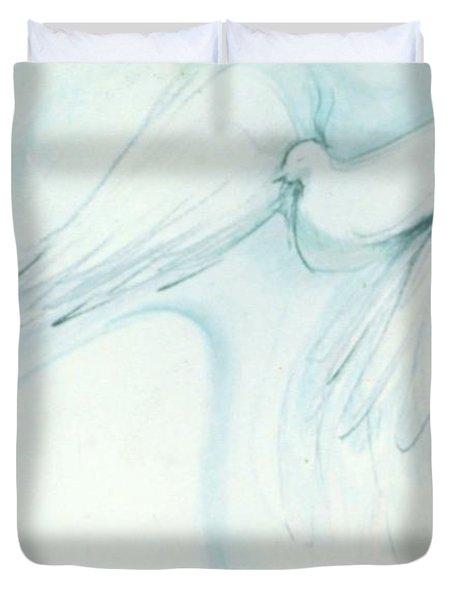 Bird In Flight Duvet Cover