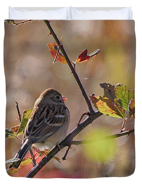 Bird In  Tree Duvet Cover