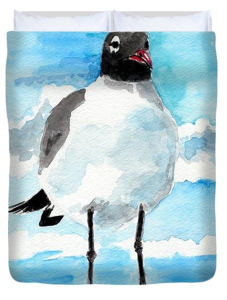 Bird Legs Duvet Cover