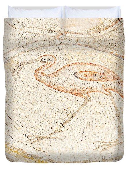 Bird Mosaic Duvet Cover by Tal Bedrack