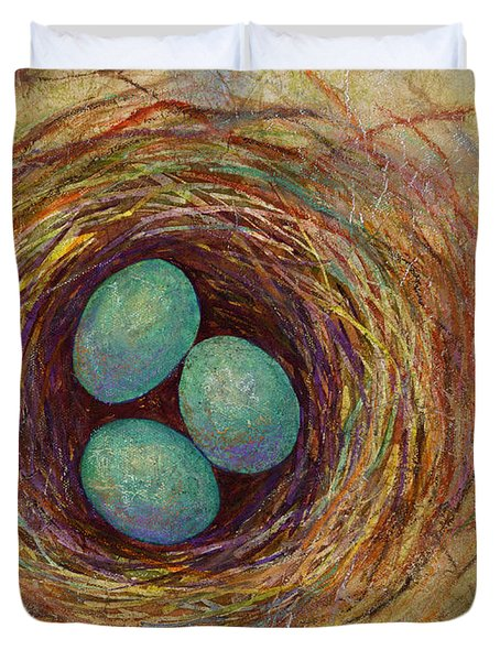 Bird Nest Duvet Cover