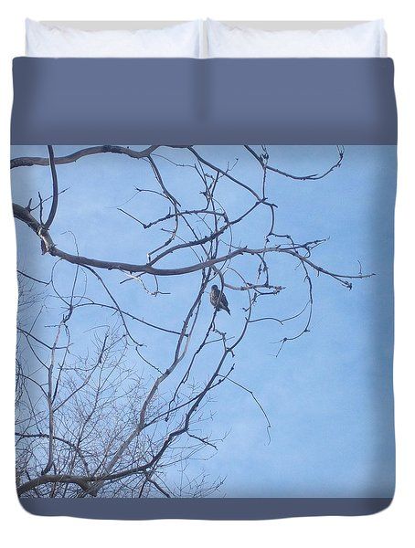 Bird On A Limb Duvet Cover