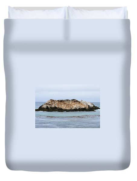 Bird Rock Duvet Cover