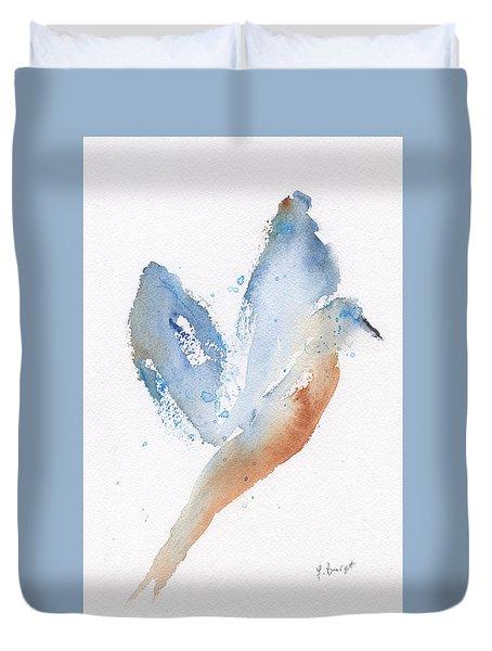 Bird Takes Flight  Duvet Cover