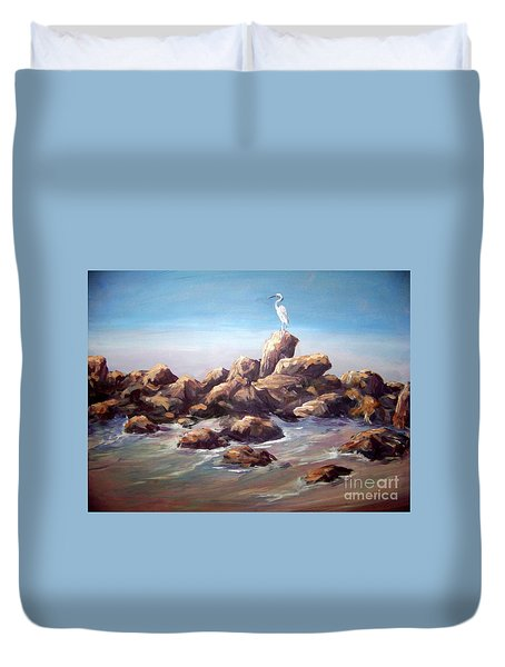 Bird Watching Duvet Cover