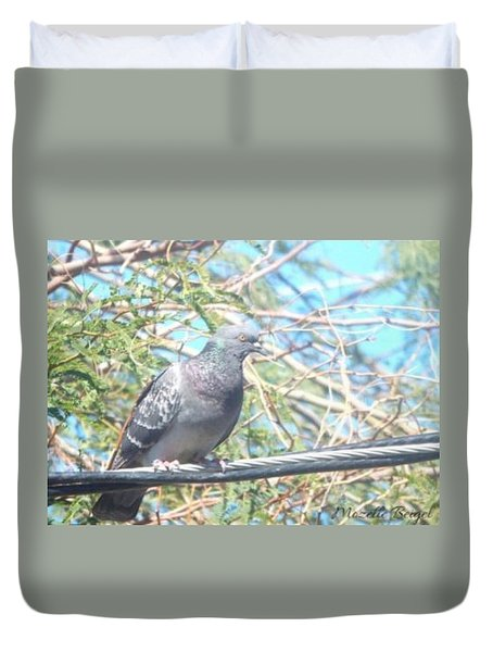 Bird Watchman Duvet Cover