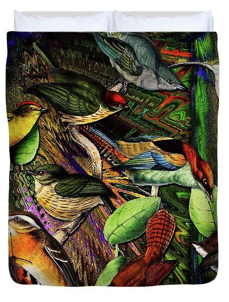 Birdland Duvet Cover