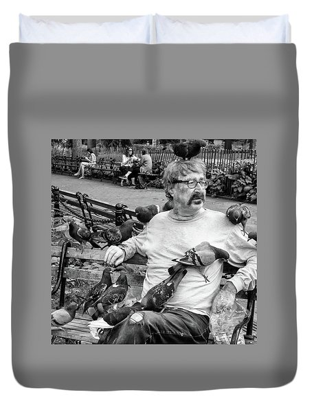 Birdman Of Wsp Duvet Cover