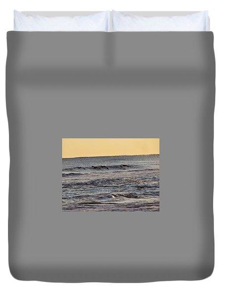 Birds At Sea Duvet Cover