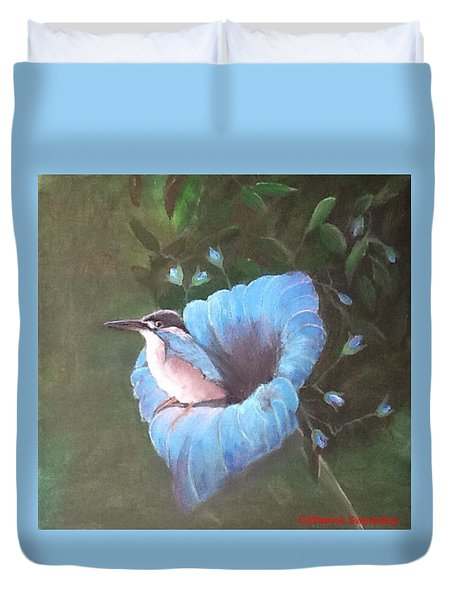 Birds' Eye View Duvet Cover